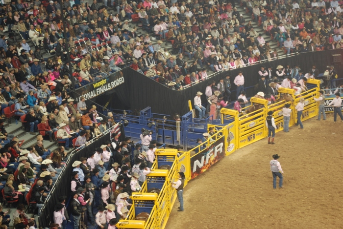 Having the chance to compete at the Wrangler National Finals Rodeo at the Thomas & Mack Center means everything to ProRodeo contestants.