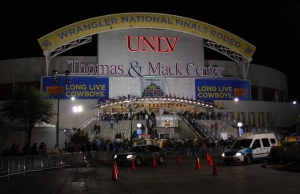 Once again, the Thomas & Mack Center will be the center of the ProRodeo world for 10 days this month.