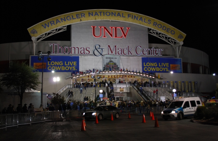 Once again, the Thomas & Mack Center will be the center of the ProRodeo world for 10 days this December.