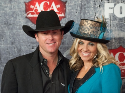 Trevor and Shada Brazile stepped out on the town Dec. 10 to attend the American Country Awards at Mandalay Bay.  (PRCA ProRodeo photo by Tom Donoghue)