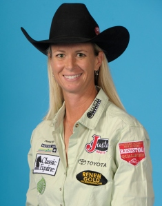Three-time World Champion Sherry Cervi was ProRodeo's big winner at this year's Cowboy Christmas.