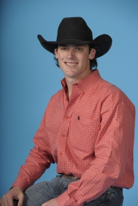 Tyler Corrington was the top earner among saddle bronc riders at this year's Cowboy Christmas.