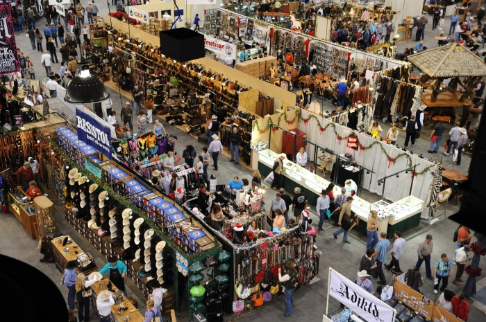 More than 185,000 people attended the Cowboy Christmas Gift Show last year, a 20-percent increase from 2011.