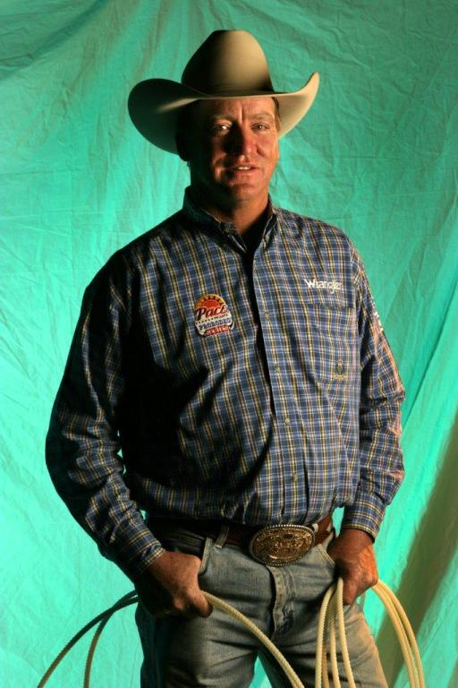 Guy Allen won 18 world championships in the steer roping, the most single-event titles in ProRodeo history.  --PRCA ProRodeo photo by Tom Kimmell