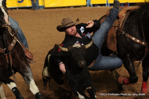 Straws Milan hasn't had the Wrangler NFR he would have liked so far, but he is keeping a positive outlook going into the final two rounds.