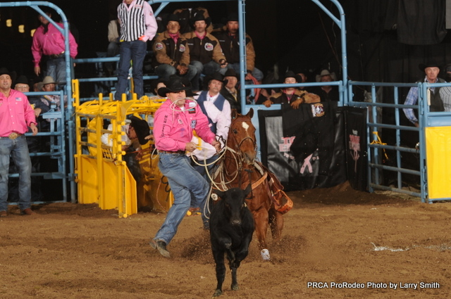 A gamble in Round 5 helped six-time World Champion Cody Ohl win the round.