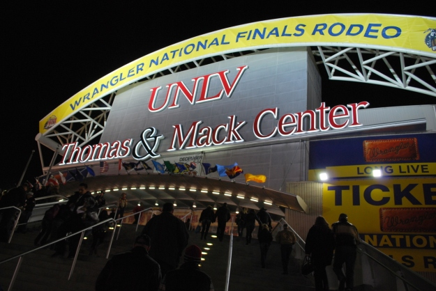 The Thomas & Mack Center has been home to the Wrangler NFR since 1985, and it the rodeo will remain in Las Vegas another 10 years, thanks to a new agreement between the PRCA and Las Vegas Events.