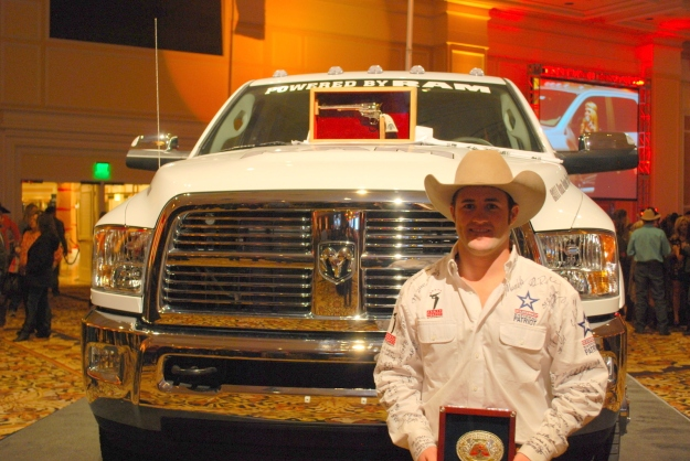 Kaycee Feild is once again the man to beat in the bareback riding, and he's also a leading candidate to earn his second career RAM Truck Top Gun Award for being the Wrangler NFR's top money winner.