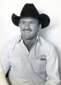Lewis Field was one of the top cowboys of the 1980s, winning three consecutive all-around gold buckles from 1985-87 and a total of five world titles.  --Photo courtesy of the ProRodeo Hall of Fame