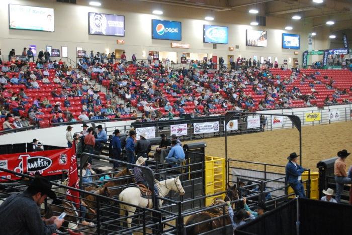 The South Point Hotel, Casino & Spa's rodeo arena was the place to be on Thursday as rodeo action in Las Vegas was kicked off in grand style.