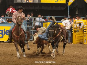 Sean Mulligan at the 2011 NFR – (c) Mike Copeman