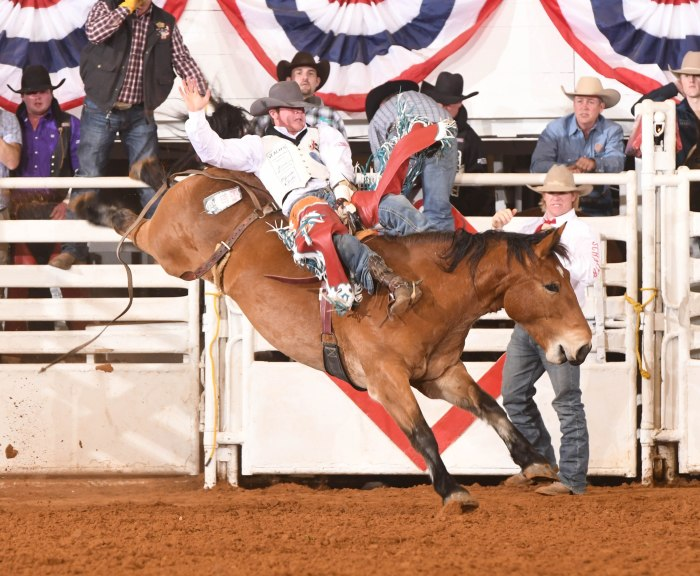 Tim O'Connell won Fort Worth's rodeo