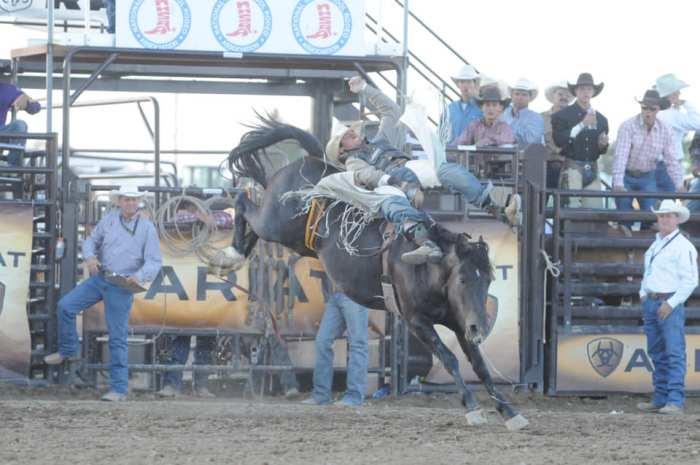 Wyatt Denny high school rodeo